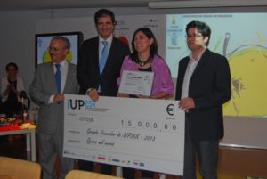 iUP25k competition: first prize awarded to Sphere Ultrafast Photonics