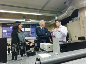 Nobel Prize Gérard Mourou visits FCUP and Sphere Ultrafast Photonics